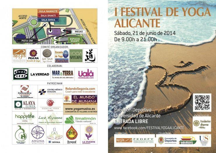 Yoga para celebrar el solsticio de verano en Alicante en ESTILO DE VIDA