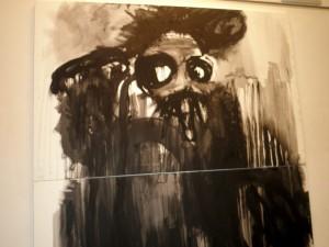 El negro, protagonista de la obra del alicantino Pablo Bellot en PINTURA