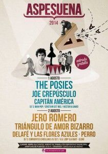 Dos noches de música indie en Aspe en MÚSICA