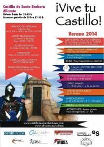 'Vive tu castillo', Santa Bárbara bulle este verano en ESCENA