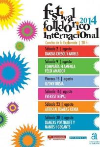 Fusión de culturas en el Festival Folclórico Internacional en MÚSICA