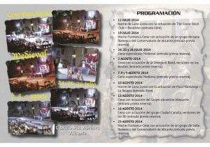 Títeres y cena con flamenco en el Castillo este fin de semana en AIRE LIBRE