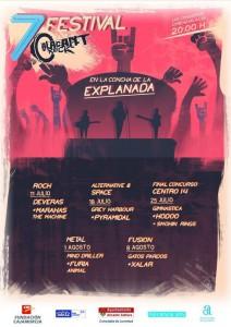'Alacant Rock': cinco viernes de rock en la Concha de la Explanada   en MÚSICA