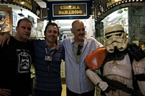 Entrevista exclusiva a Anthony Forrest, 'sandtrooper' de Star Wars en CINE