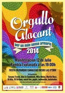 Orgullo Alacant: Por un mundo sin armarios en AIRE LIBRE