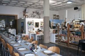 Hangart, un oasis de tendencias mediterráneas en el Parque Empresarial en AIRE LIBRE