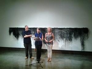 Atrapando el reflejo de la luna, exposición de Masanet en La Lonja en PINTURA
