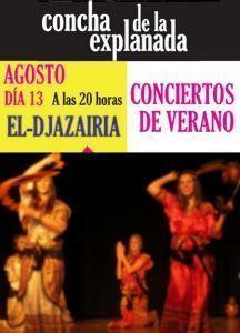Danzas argelinas y música madrileña en La Concha en MÚSICA