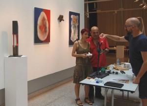 Mediterráneo pone el broche musical a una exposición colectiva en MÚSICA