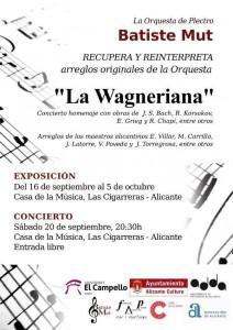 La orquesta Batiste Mut recupera el patrimonio musical de La Wagneriana en MÚSICA