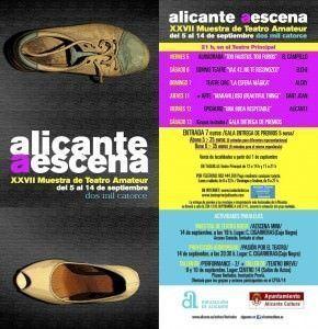 Alicante a escena, una ventana al teatro amateur de la provincia en ESCENA