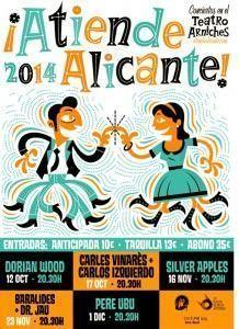 ¡Atiende Alicante!, música singular en ambientes íntimos en MÚSICA