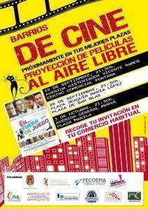 'Barrios de cine', películas al aire libre en las plazas Alicante en CINE