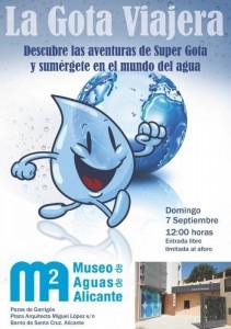 'La Gota Viajera' estrena la agenda cultural didáctica del Museo del Agua en ESCENA
