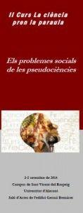 'La Ciencia toma la palabra: los problemas sociales de las pseudociencias' en ESTILO DE VIDA
