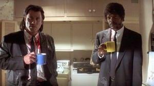 'Pulp Fiction' protagoniza hoy la segunda sesión del ciclo 'De 4 en 10 Negro' en CINE