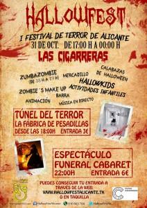 HallowFest Alicante. ¡Siente el verdadero terror! en AIRE LIBRE