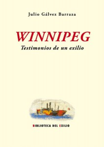 Presentación de 'Winnipeg. Testimonios de un exilio' en la Seu en LETRAS
