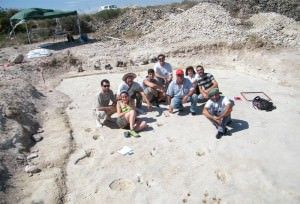 Huellas de animales de hace cinco millones de años en San Gabriel en ARQUEOLOGÍA