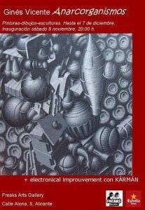 'Anarcorganismos', criaturas futuristas de Ginés Vicente en el Freaks en ARTE