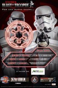 Este sábado, dispara a los 'troopers' de Star Wars por un buena causa en AIRE LIBRE