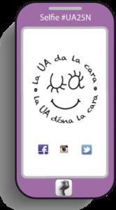 'La UA da la cara' contra la violencia de género en INTERNET