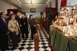 La Diputación acoge la tradicional Muestra de Belenes en ARTESANIA