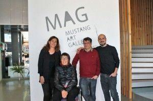 'Emociones' en apoyo a los afectados por ELA en la Mustang Art Gallery en ESCENA