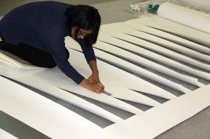 Liliana Zapata expone sus esculturas de papel en la Sala MAG en ESCULTURA