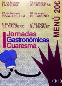 I Jornadas Gastronómicas de Cuaresma en Alicante en ESTILO DE VIDA
