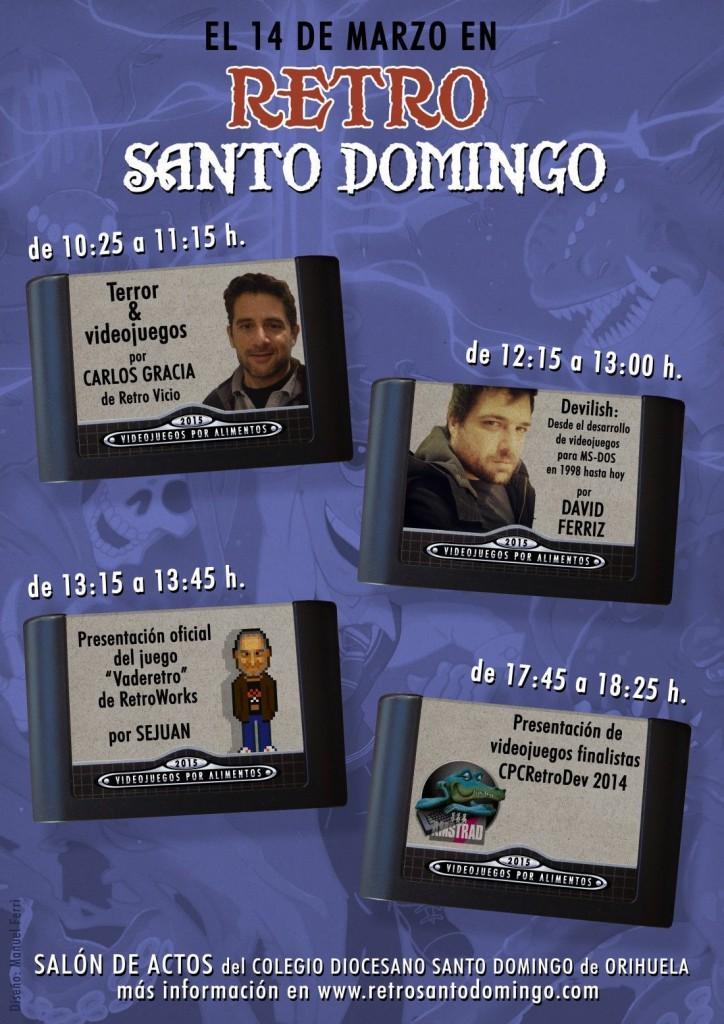 Retro Santo Domingo: Una cita solidaria en Orihuela para los amantes de los videojuegos en JUEGOS