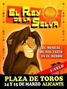 El musical circense 'El Rey de la Selva' llega a Alicante en ESCENA