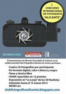 Más de 600 fotos de medio mundo concurren al I Concurso Internacional 'Alicante'  en FOTOGRAFIA