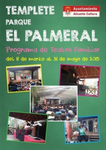 Domingos de teatro familiar en El Palmeral en ESCENA