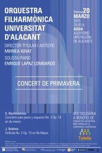 Comienzan los conciertos de primavera de la OFUA en MÚSICA