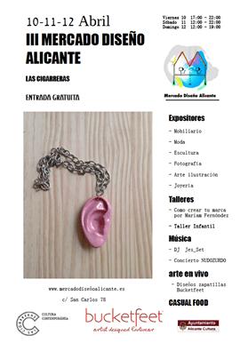 El III Mercado de Diseño de Alicante aterriza este fin de semana en Las Cigarreras en ARTE