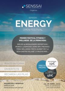 Llega a Alicante el Senssai Energy Open Festival en DEPORTE