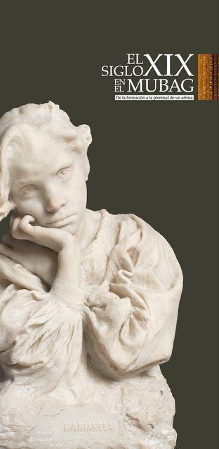 El busto romano 'Marianela' del alicantino Vicente Bañuls recala en el MUBAG en ESCULTURA