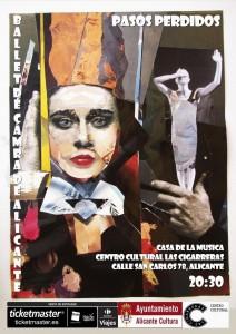 El Ballet de Cámara de Alicante estrena el espectáculo 'Pasos perdidos' en Las Cigarreras en ESCENA