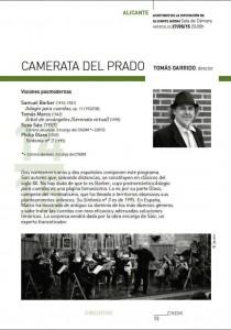 La orquesta Camerata del Prado cierra la temporada de 'Alicante Actual' en el Adda en MÚSICA