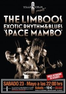 El Rhythm and Blues exótico de The Limboos llega a Villavieja 6 en MÚSICA