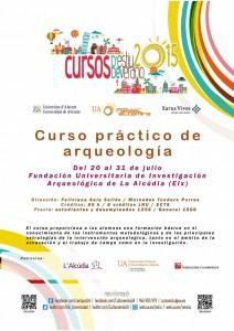 La UA oferta el II Curso Práctico de Arqueología en L'Alcúdia en ARQUEOLOGÍA