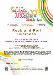 Las estrellas del Rock como negocio protagonizan un curso de verano de la UA en CONFERENCIAS
