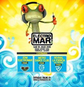 Vuelve el Electromar, el festival de dance en Torrevieja en MÚSICA