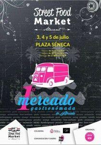 La Plaza de Séneca acoge el primer Mercado Gastronómada de Alicante en GASTRONOMÍA