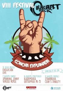 Alacant Rock ofrecerá conciertos en la Concha y las Plazas de Argel y Navarro Rodrigo en MÚSICA