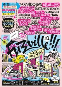 Las 'Junk Parties' del festival Fuzzville!!! pasan por Alicante en MÚSICA