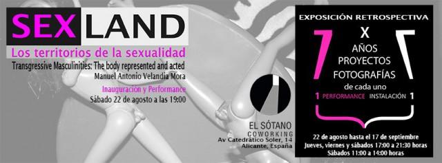 Sexland Territorios de la sexualidad
