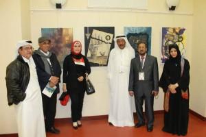 La kasbah del artista, exposición colectiva de pintores marroquíes en el Freaks en PINTURA