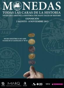 El MARQ lleva al Museo Histórico de Aspe la exposición 'Monedas. Todas las caras de la historia' en ARQUEOLOGÍA